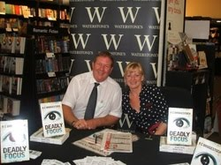 Interview with authors behind crime fiction pseudonym RC Bridgestock