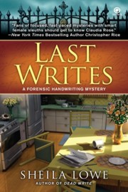 Interview with mystery author Sheila Lowe