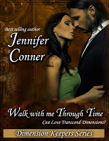 Virtual blurb blitz stop for Walk With Me Through Time by Jennifer Conner