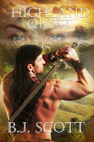 Virtual book blast for Highland Quest by B.J. Scott