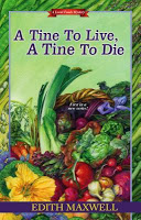 Review of cozy mystery A Tine to Live, A Tine to Die by Edith Maxwell