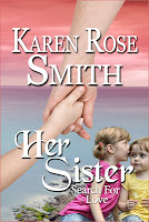 Book blurb blitz stop for Her Sister by Karen Rose Smith