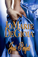 Book blast stop for Just Perfect by JoMarie DeGioia