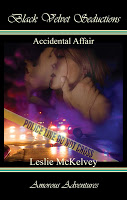 New interview with romantic suspense author Leslie McKelvey