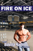 Book blurb for Fire on Ice by Dakota Madison