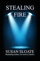 Book blast stop for romance novel Stealing Fire by Susan Sloate
