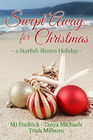 """Book blurbs and an excerpt for the anthology """"Swept Away for Christmas"""""""