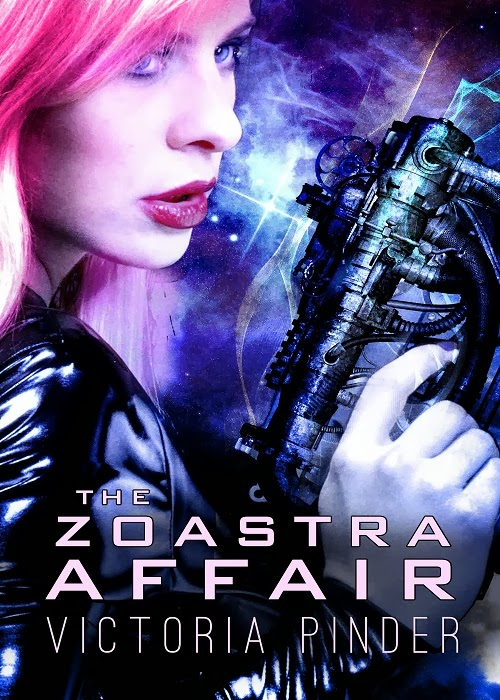 Interview with sci-fi romance author Victoria Pinder