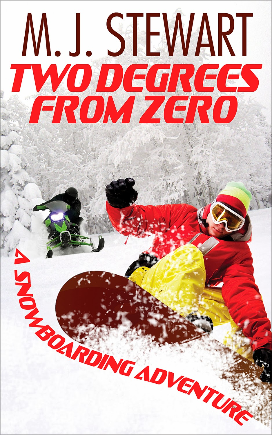 Book excerpt for MG action/adventure novel Two Degrees from Zero by M.J. Stewart