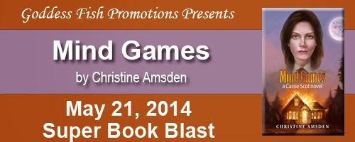 Book blurb and excerpt for Mind Games by Christine Amsden