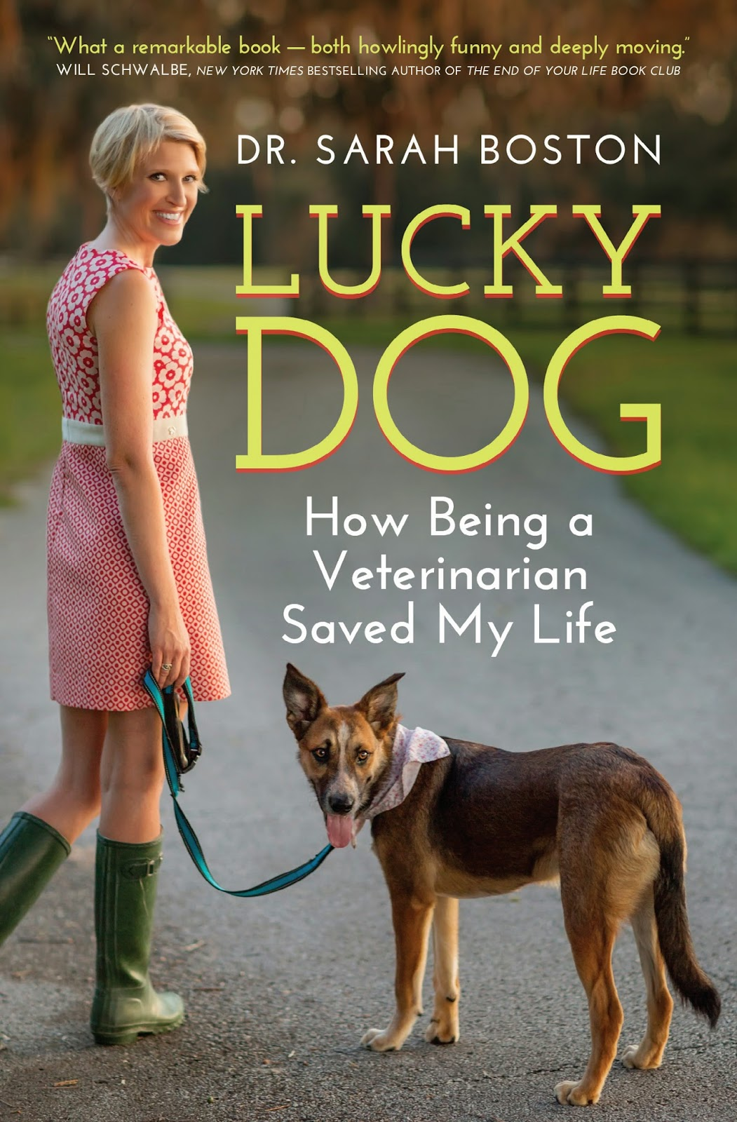 Interview with veterinarian and memoirist Dr. Sarah Boston
