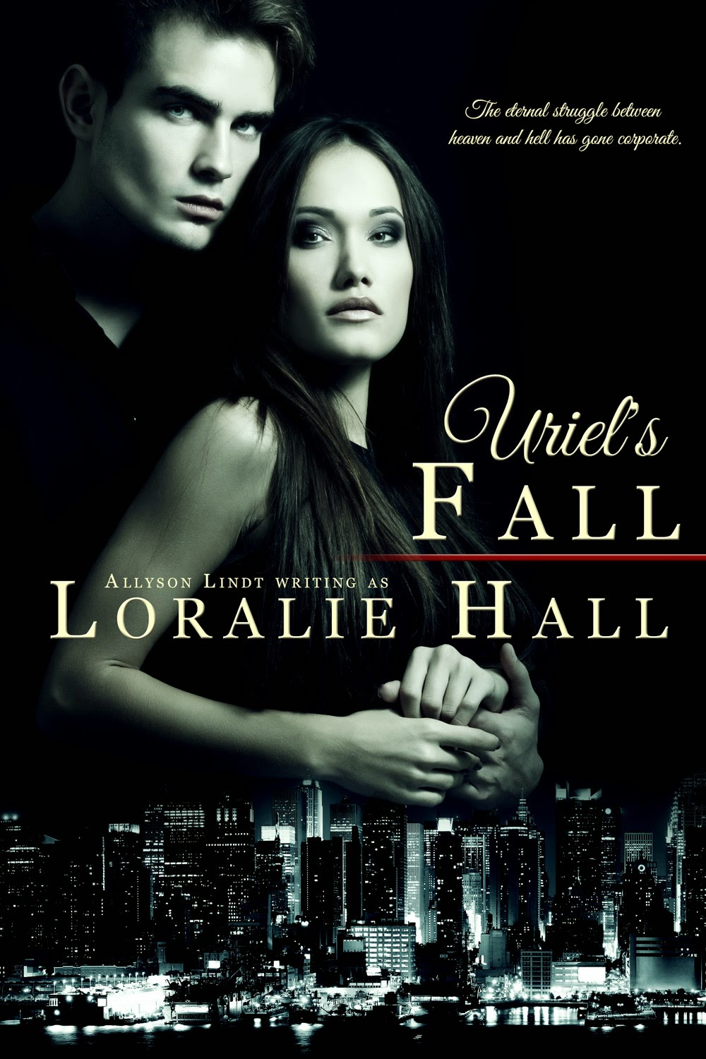 Urban fantasy book excerpt from Uriel's Fall by Loralie Hall