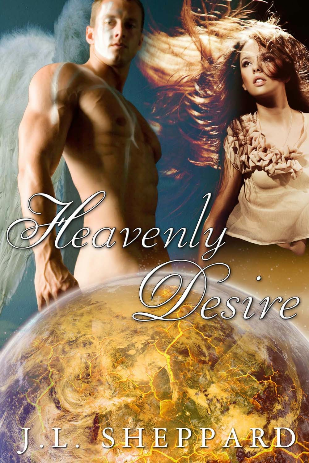 Excerpt for paranormal romance novel Heavenly Desire by JL Sheppard