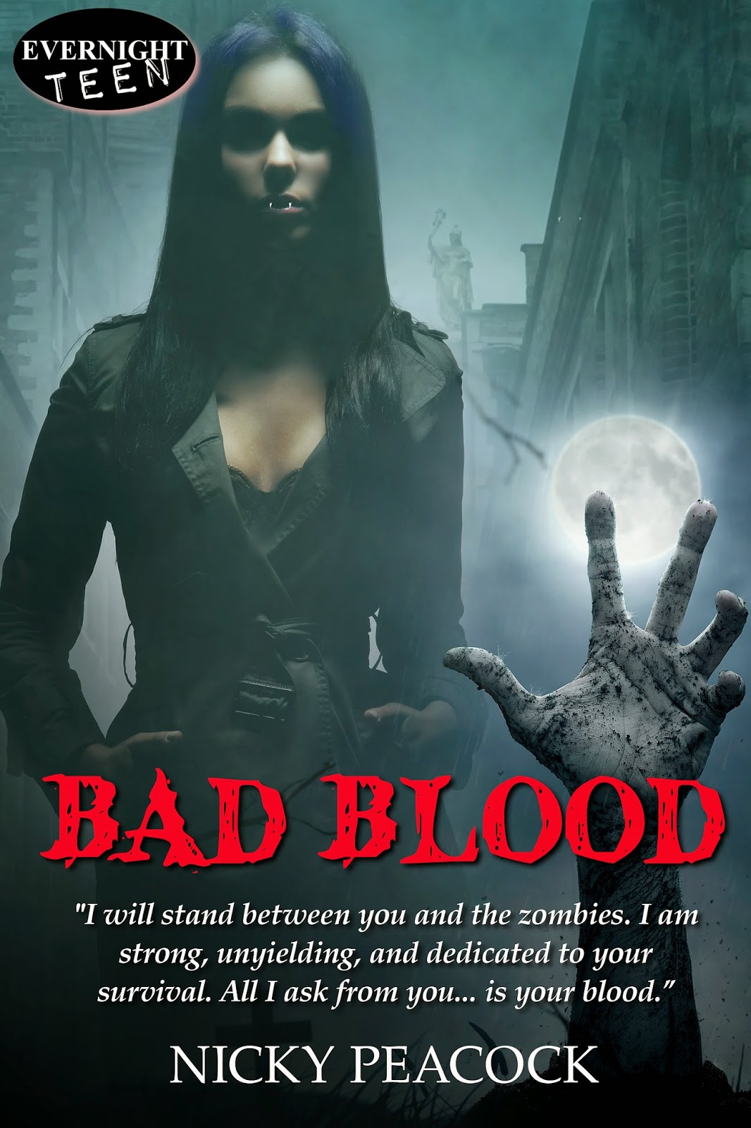 Interview with YA dark fiction/urban fantasy author Nicky Peacock