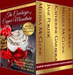 Book excerpt for The Cowboys of Copper Mountain Christmas anthology by Tule Publishing Group