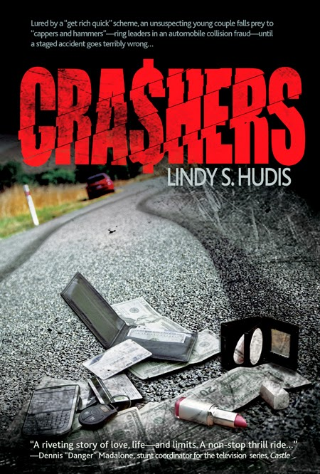 Book excerpt for mystery suspense novel, Crashers, by Lindy s. Hudis