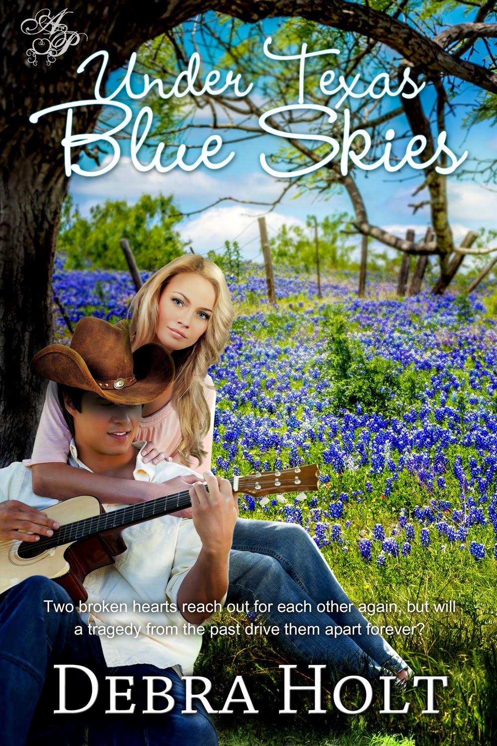 Book excerpt for contemporary romance novel Under Texas Blue Skies by Debra Holt