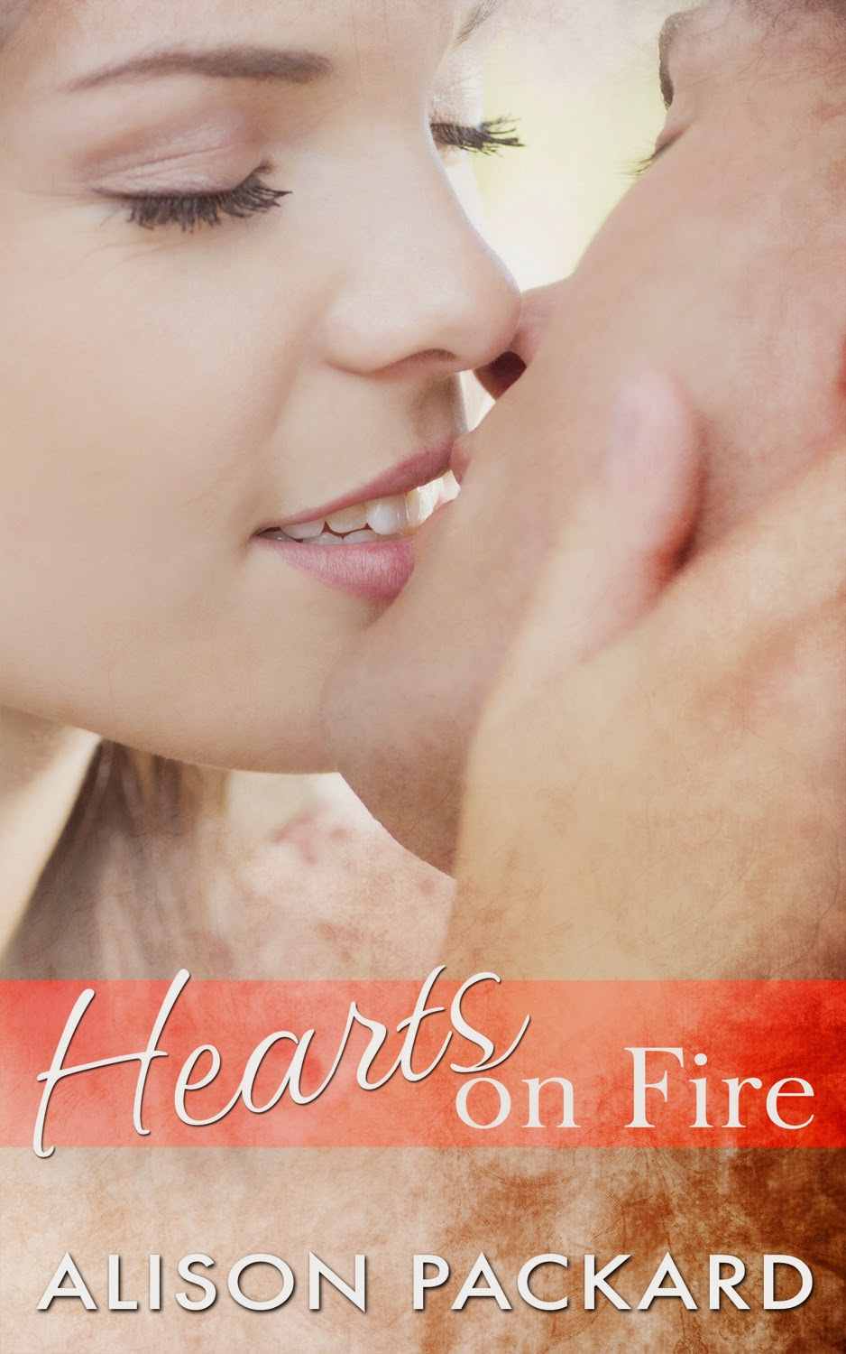 Book excerpt for contemporary romance novel Hearts on Fire by Alison Packard