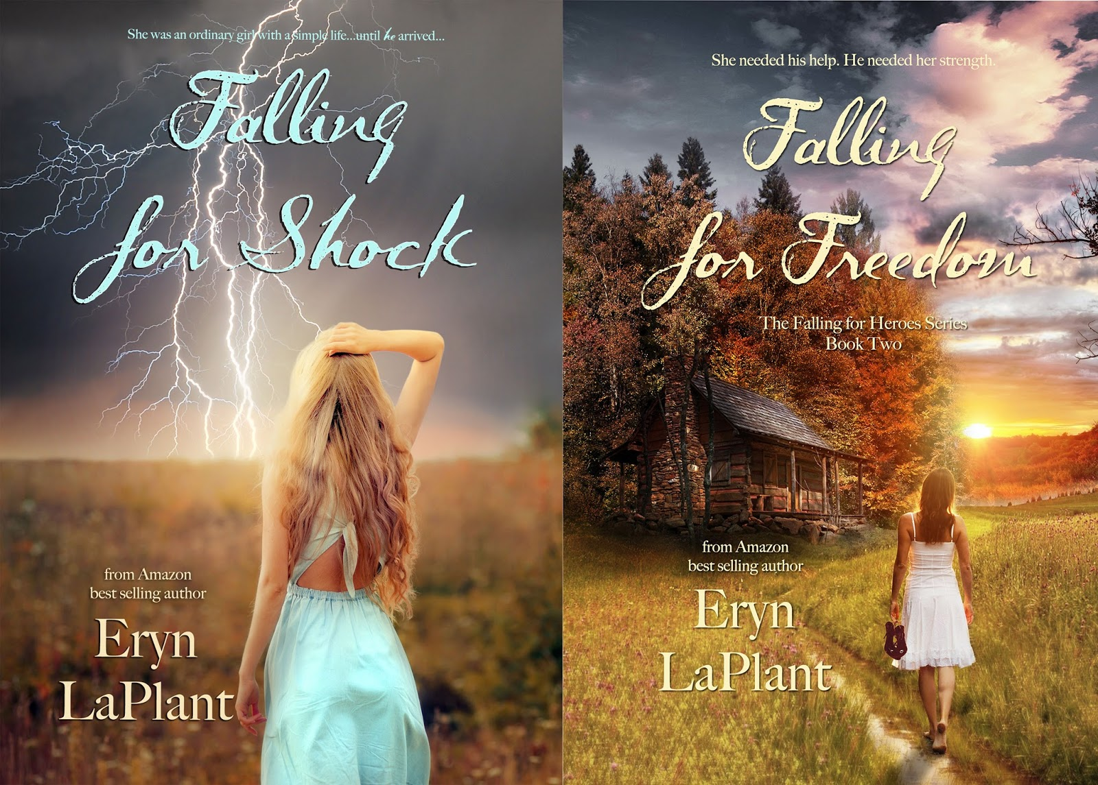 Special excerpt from contemporary romance Falling for Heroes by Eryn LaPlant