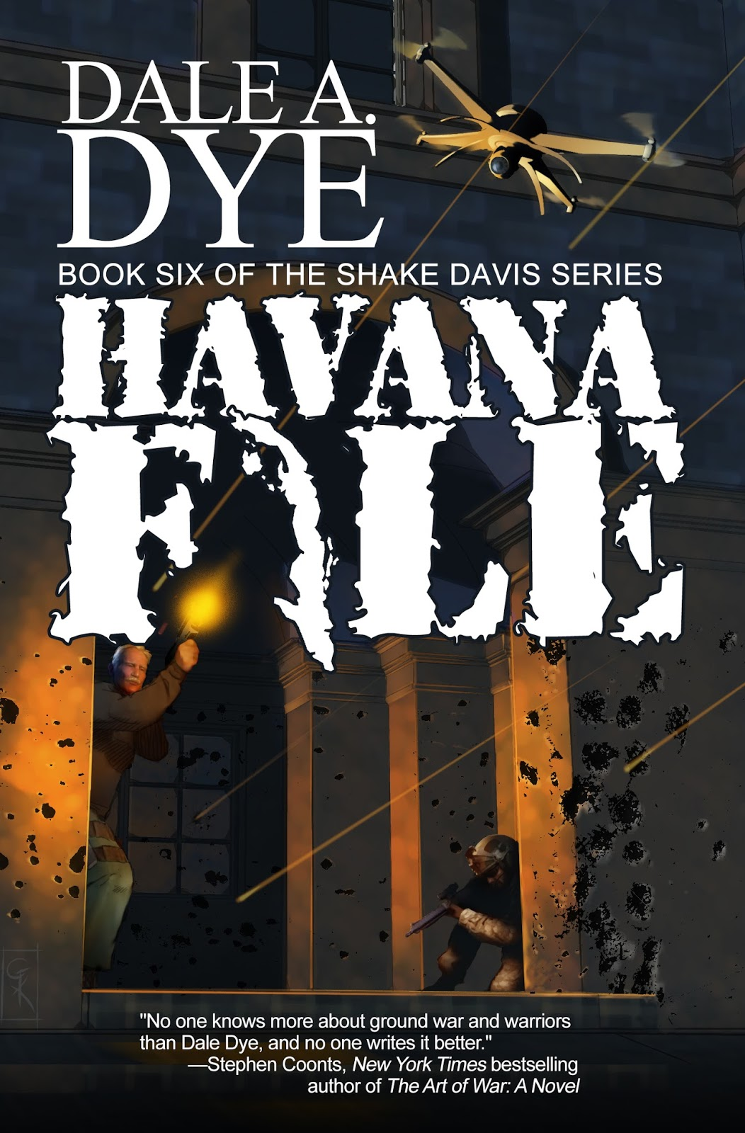 Interview with military thriller/suspense author Dale A. Daye