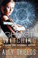 Interview with paranormal mystery author Ally Shields