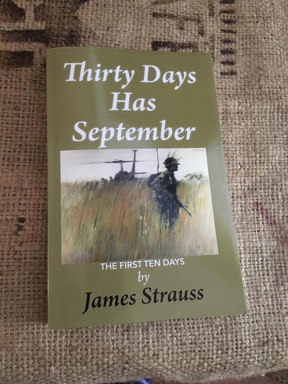 Interview with war writer James Strauss