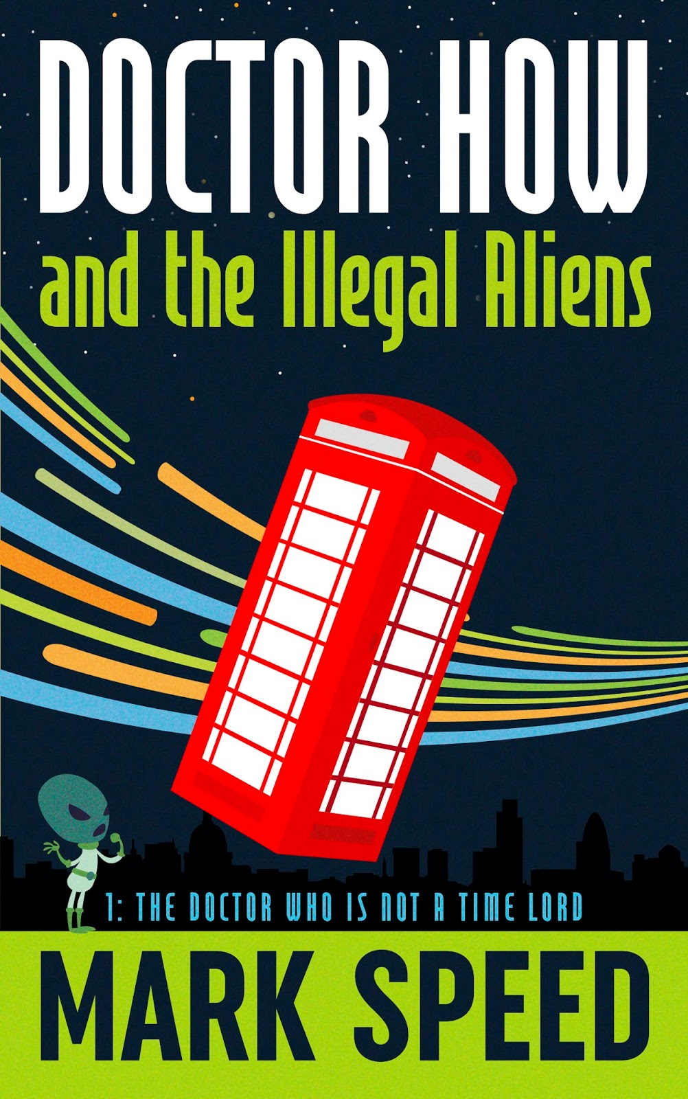 Interview with humorous sci-fi novelist Mark Speed