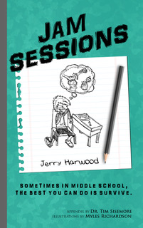 Interview with middle grade author Jerry Harwood