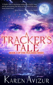 book cover for a tracker's tale