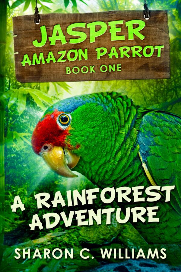 cover - jasper amazon parrot